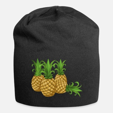 Pineapple Pineapples - pineapple - Jersey Beanie