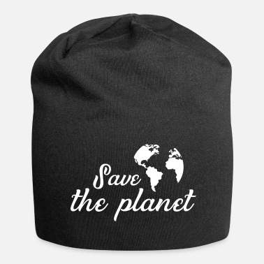 Global Save the Planet Shirt Save the Earth Gift - Bonnet en jersey