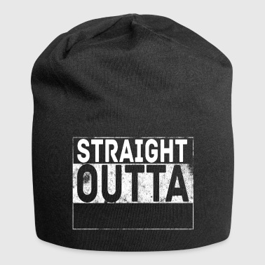 Straight outta your text - Jersey Beanie