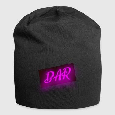 bar bar - Beanie in jersey