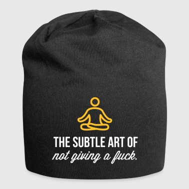 The Subtle Art Of Not Giving A Fuck! - Jersey Beanie