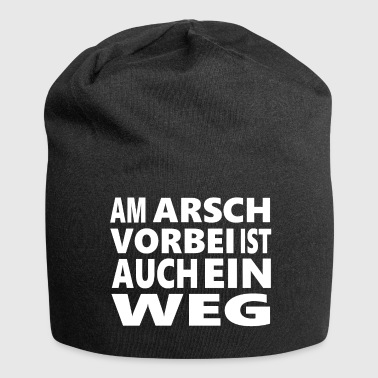 Coole Cooler Spruch - Jersey-Beanie