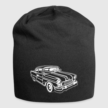 Chevy Cadilac / Muscle Car 02_white - Jersey Beanie