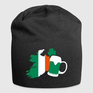 Irland, irish beer, St Patricks Day - Beanie in jersey