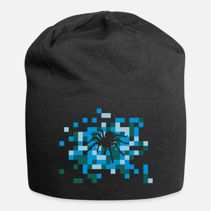 Spin Caps & Hats - spider insect animal disgusting - Beanie black