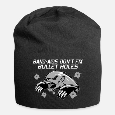 Badger Honey badger honey badger tshirt - Jersey Beanie