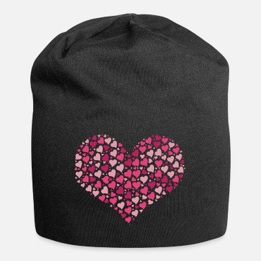 Cuore cuore - Beanie in jersey