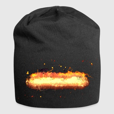 Burning city community - Beanie in jersey