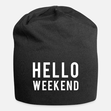 Weekend Weekend - Beanie in jersey