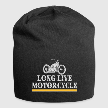 long live motorcycle - Jersey Beanie