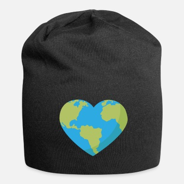 Shape World in Heart Shape - Jersey-pipo