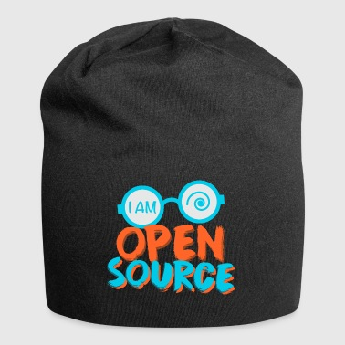 Io sono open source - Beanie in jersey