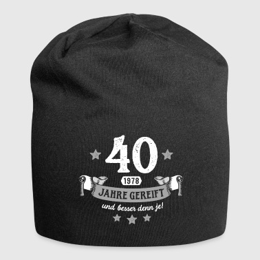Matured for 40 years - Jersey Beanie
