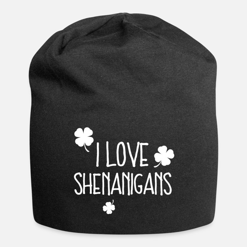 Like Caps & Hats - I Love Shenanigans T - Beanie black