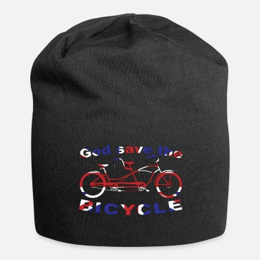 Not Safe For Work Bike God safe the bicycle England - Jersey Beanie