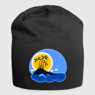Holiday Island Island - holiday - Jersey Beanie