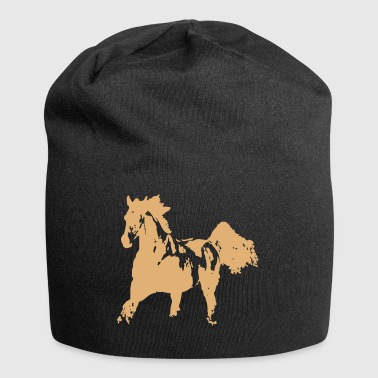 Cheval de course - Bonnet en jersey