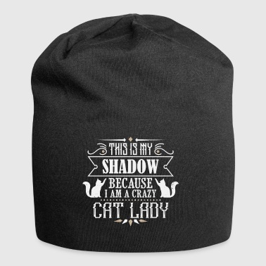 Crazy Cat Lady - cat - Jersey Beanie