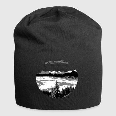 rocky mountains - Jersey-Beanie