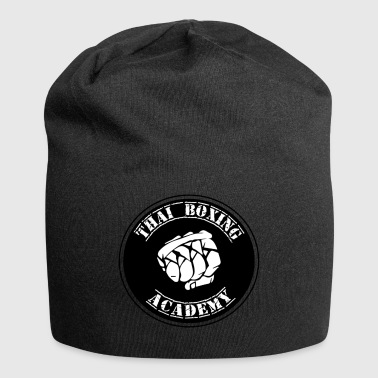 Logo thai boxing academy - Jersey Beanie