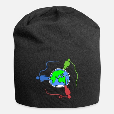 Global globalization - Jersey Beanie