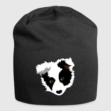 Border Collie Dog Head Border Collie - Jersey-Beanie