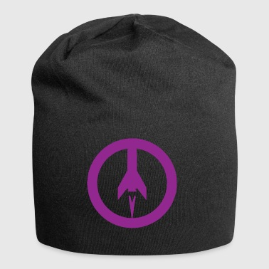 Missile+peace - Jersey Beanie