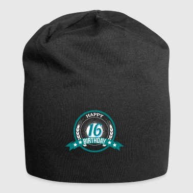 16th Birthday Gift for 16 year old - Jersey Beanie