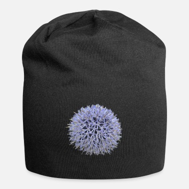 Lilac Large lilac flower - Jersey Beanie