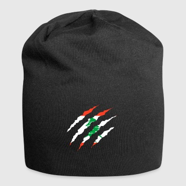 Claw Klaue Laender Libanon png - Jersey-Beanie