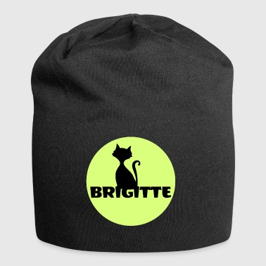 Brigitte First name name day gift - Jersey Beanie
