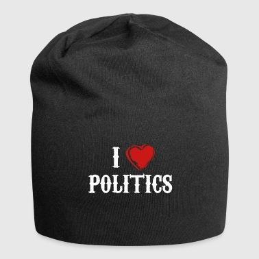 Politics love government gift - Jersey Beanie