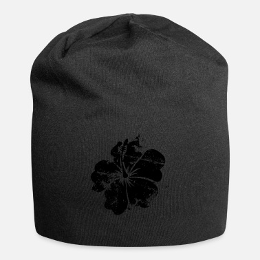 Hawaii Flower - Hawaii - Vintage - Jersey-Beanie