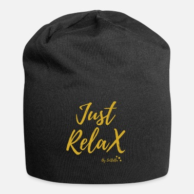 Just Just Relax - Beanie in jersey