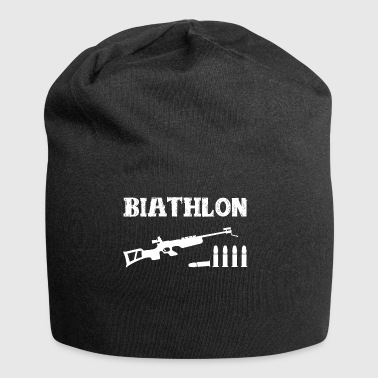 Biathlon winter sports - Jersey Beanie