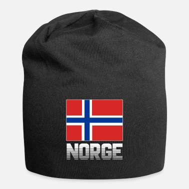 Norge Norge Norge flag banner nationale farver stolt - Jersey-Beanie