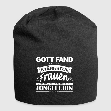 Juggler Juggler shirt god found - Jersey Beanie