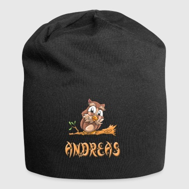 Eule Andreas - Jersey-Beanie