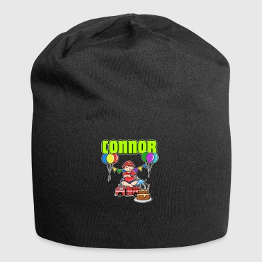 Fire Department Connor Gift - Jersey Beanie