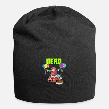 Nero Fire Department Nero Gift - Jersey Beanie