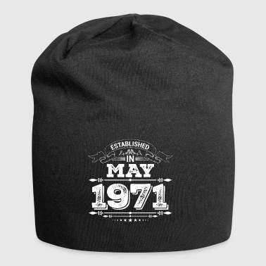 Established Established in May 1971 - Jersey Beanie