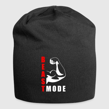 BEAST MODE WORKOUT Gift Idea Motivational Design Cool - Jersey Beanie