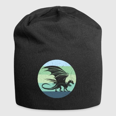 Welsh Dragon Retro - Jersey-Beanie