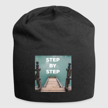 STEP BY STEP quote - Quote - Jersey Beanie