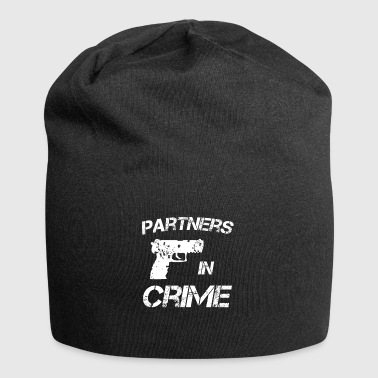 Partners in crime Partners in Crime idea - Jersey Beanie