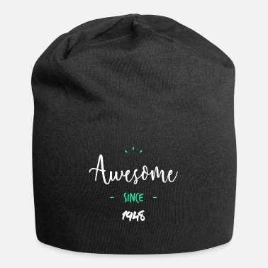 Since Awesome since 1948- - Beanie in jersey