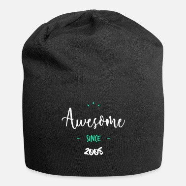Since Awesome since 2008 - - Beanie in jersey