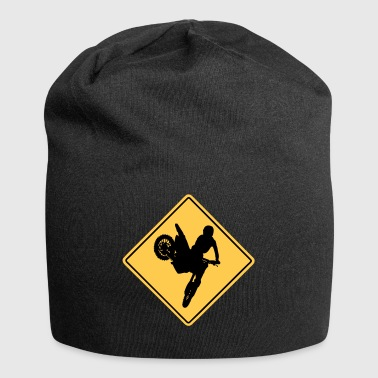 Motocross Road Sign - Jersey-Beanie