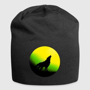 Wolf and mystic night - Jersey-beanie