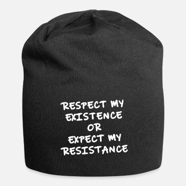 We Are The 99 Percent Respect for me as an individual, resistance - Jersey Beanie